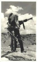 ind100032 - Tesuque Pueblo Indian Dancer, New Mexico, USA, Real Photo Indian, Indians Postcard Postcards