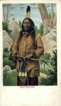 ind200036 - Long Feather Indian Postcard Post Cards