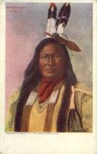 ind200042 - Chief In the Face Sioux Indian Postcard Post Cards