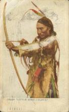 ind200060 - Chief Little White Cloud Indian Postcard Post Cards