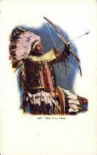 ind200079 - Chief Arrow Head Indian, Indians, Postcard Post Cards