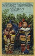 ind200100 - Papoose Twins Indian Postcard Post Cards