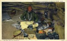 ind200111 - Navajo Silversmith Indian Postcard Post Cards
