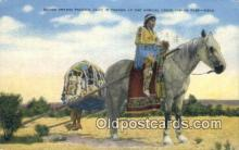 ind200147 - Horse Drawn Travors, Indian Fair Indian Postcard, Post Card