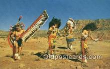 ind200151 - Indian Dancers Indian Postcard, Post Card