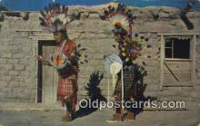 ind200152 - War Dancers Indian Postcard, Post Card