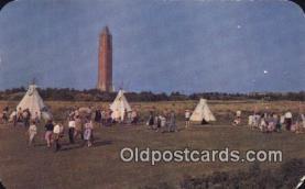 ind200169 - Indian Village Indian Postcard, Post Card