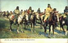 ind200177 - Comanche Indians Indian Postcard, Post Card