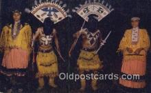 ind200191 - Apache Indian Devil Dance Indian Postcard, Post Card
