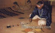 ind200199 - Sand Painting Indian Postcard, Post Card