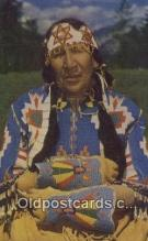 ind200206 - Northwest Indian Squaw Indian Postcard, Post Card