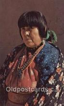 ind200221 - American Indian Woman Indian Postcard, Post Card