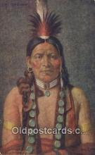ind200223 - Chief Quinghigit Indian Postcard, Post Card