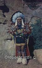 ind200225 - North American Indian Chief Indian Postcard, Post Card