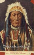 ind200236 - Sioux Indian Chief Indian Postcard, Post Card