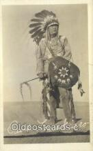 ind200238 - Real Photo - Paul Lomakiaro Indian Postcard, Post Card
