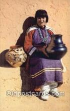 ind200257 - Maria, Pottery Maker Indian Postcard, Post Card
