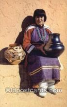 ind200258 - Maria, Pottery Maker Indian Postcard, Post Card
