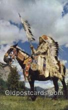 ind200266 - Indian Chief Indian Postcard, Post Card