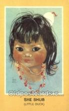 ind200272 - She Shub, Little Duck Indian Postcard, Post Card