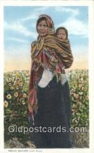 ind200277 - Indian Mother & Babe Indian Postcard, Post Card