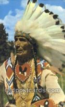 ind200280 - Indian Chief Indian Postcard, Post Card