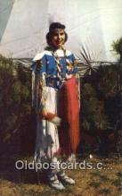 ind200282 - Indian Maiden, Pawnee Indian Postcard, Post Card