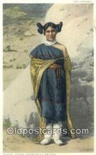 ind200296 - Kodeh, Hopi Belle, Fred Harvey Indian Postcard, Post Card