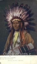 ind200316 - Song of Hiawatha, Long fellow Indian Postcard, Post Card