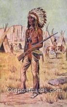 ind200317 - Indio Dakota Indian Postcard, Post Card