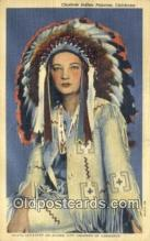 ind200320 - Choctaw Indian Princess Indian Postcard, Post Card