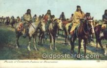ind200337 - Camache Indians Indian Postcard, Post Card