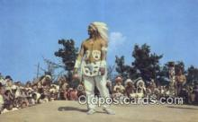 ind200340 - Chief Thunderbird, Shinnecock Indian Indian Postcard, Post Card