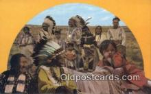 ind200364 - American Indian Indian Postcard, Post Card