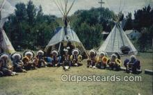 ind200368 - Koshare Chiefs Indian Postcard, Post Card