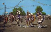 ind200373 - Pottawatomi Indian Pow Wow Club Indian Postcard, Post Card