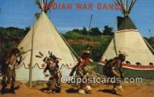 ind200376 - Indian War Dance Indian Postcard, Post Card
