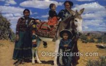 ind200379 - Navajo Children Indian Postcard, Post Card