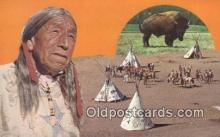 ind200381 - American Indian Indian Postcard, Post Card