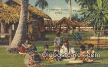 ind200382 - Seminole Family Group Indian Postcard, Post Card