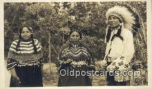 ind200386 - Indian, Browning Montana Indian Postcard, Post Card