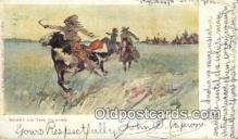 ind200396 - Sport on the Plains Indian Postcard, Post Card