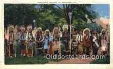 ind200404 - Comanche Indians Indian Postcard, Post Card