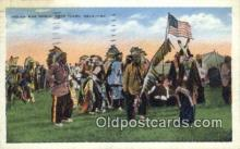 ind200405 - Indian War Dance Indian Postcard, Post Card