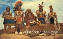 ind200406 - Dance Team, Gallup Indian Postcard, Post Card
