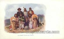 ind200415 - Chief Sevaro & Family Indian Postcard, Post Card