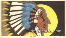 ind200417 - The Chief Indian Postcard, Post Card