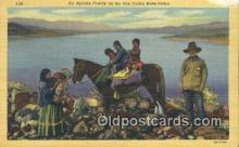 ind200435 - Apache Family Indian Postcard, Post Card