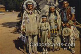 Chief Running Horse & Family
