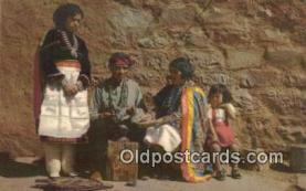 Zuni Indian Silversmith & Family
